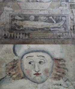 SPAB JohnBetjemanAward Stratford upon Avon Guild Chapel wallpaintings 060718.png