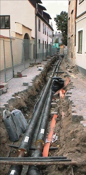 File:The Visby district heating system under construction.jpg